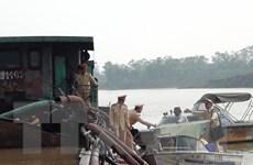 Bắc Ninh: Khởi tố vụ án hút cát trái phép trên sông Đuống