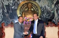 Việt-Lào chia sẻ kinh nghiệm trong công tác cải cách tư pháp
