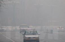 Khói mù làm ảnh hưởng giao thông công cộng ở Trung Quốc
