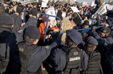 4.000 người chăn cừu ở Romania biểu tình phản đối luật mới