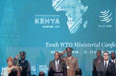 Hội nghị bộ trưởng WTO tìm giải pháp thúc đẩy thương mại