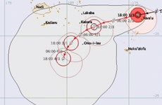 Fiji đưa ra cảnh báo về bão nhiệt đới Ula có sức tàn phá mạnh