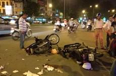Cao Bằng: Va chạm xe môtô đang bốc đầu, một người tử vong