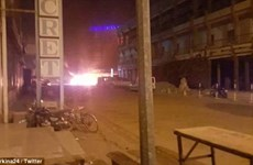 Cảnh sát Burkina Faso đấu súng với đối tượng bắt con tin tại khách sạn