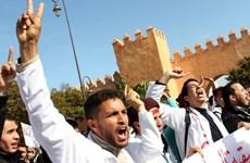 Hàng nghìn người Maroc biểu tình phản đối cắt giảm trợ cấp giáo dục