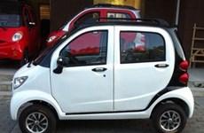 Xe ôtô điện mini lưu thông trên đường phố có thể bị tịch thu