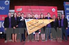 Trao giải Cuộc đua thuyền buồm quanh thế giới chặng 7 tại Đà Nẵng
