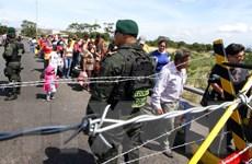 Venezuela và Colombia tạm thời mở lại cửa khẩu biên giới