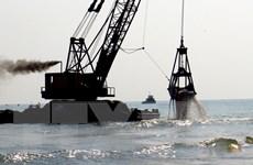 Phú Yên nạo vét cửa biển Đà Diễn do bị bồi lấp quá nặng