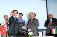 Việt Nam-Kuwait ký hiệp định vay 11 triệu USD cung cấp thiết bị y tế