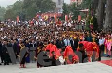 Nhiều hoạt động phong phú diễn ra tại Lễ hội Tây Thiên Xuân 2016