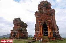 Tháp Bánh Ít - công trình kiến trúc cổ mang dấu ấn văn hóa Chăm