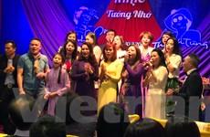 Đêm nhạc tưởng nhớ Trịnh Công Sơn và Thanh Tùng tại Séc