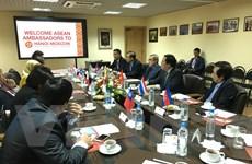 Khối ASEAN đoàn kết trong thúc đẩy quan hệ với Liên bang Nga
