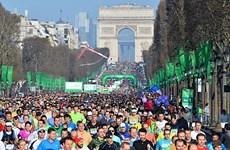 Giải chạy Marathon Paris thu hút hơn 57.000 người tham dự