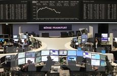 Chứng khoán châu Âu tăng nhờ nhận thông tin kinh tế tích cực