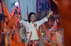 Peru: Con gái cựu tổng thống Fujimori có thể giành gần 40% số phiếu