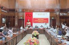 Thông qua 197 ứng viên ở khối Trung ương để bầu đại biểu Quốc hội