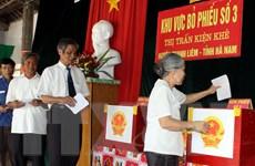 Quảng Nam đề nghị xem xét được bầu cử sớm ở 49 khu vực