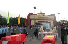 Quảng Trị, Kon Tum tổ chức truy điệu và an táng hài cốt liệt sỹ
