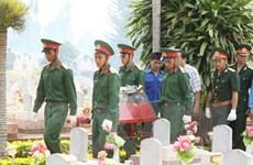 Thừa Thiên-Huế truy điệu, an táng hài cốt liệt sỹ hy sinh ở Lào