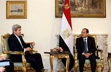 Ngoại trưởng Mỹ thăm Ai Cập nỗ lực khôi phục hòa đàm Trung Đông
