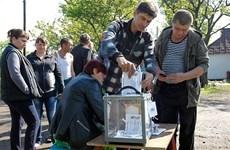 Lãnh đạo Bộ tứ Normandy điện đàm về bầu cử tại Đông Ukraine
