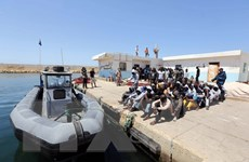 Cứu sống 2.000 người di cư tại vùng biển ngoài khơi Libya