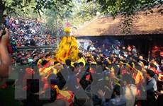 Hành vi tranh cướp lộc làm biến dạng giá trị truyền thống của lễ hội