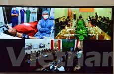 Bàn giao hệ thống y tế từ xa cho Bệnh viện 179 của Campuchia