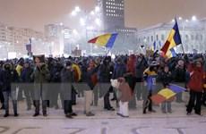 Người biểu tình Romania tiếp tục xuống đường đòi chính phủ từ chức