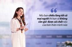 Bài diễn văn gây sốt của Chi Pu tại Forbes Talks Vietnam 2017