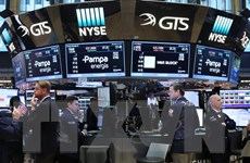 Chỉ số Dow Jones kết thúc chuỗi lên điểm kéo dài 12 phiên