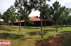 Nhịp điệu kiến trúc nhà thờ Ka Đơn của đồng bào dân tộc Churu