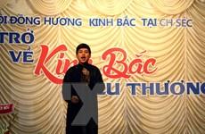 Câu quan họ kết nối cộng đồng người Việt Nam ở Séc