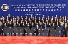 Ban lãnh đạo AIIB phê chuẩn 13 đơn xin gia nhập thành viên mới