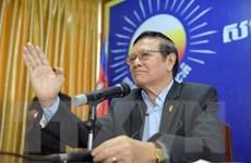 Bộ Nội vụ Campuchia không công nhận ban lãnh đạo mới của CNRP