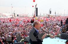 Hơn 50% cử tri Thổ Nhĩ Kỳ đồng ý với kế hoạch sửa đổi hiến pháp