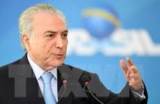Chính phủ Brazil bác bỏ cáo buộc Tổng thống Temer nhận hối lộ