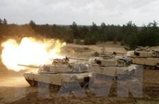 NATO tổ chức diễn tập quân sự Summer Shield ở Latvia