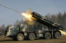 Nga: Quân khu miền Tây được trang bị nhiều pháo phản lực đa nòng