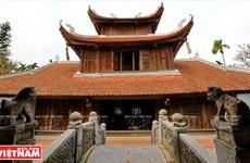 Nét đẹp nguyên sơ, độc đáo của Bút Tháp cổ tự xứ Kinh Bắc