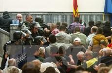 Căng thẳng chính trị tại Macedonia chưa có dấu hiệu hạ nhiệt