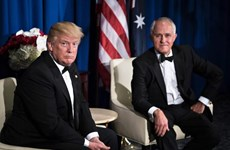 Tổng thống Mỹ và Thủ tướng Australia gặp nhau lần đầu tiên