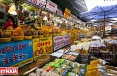 Chợ mắm, cá khô Châu Đốc lớn nhất miền Tây Nam Bộ