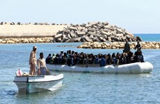 Italy và các nước Bắc Phi ký thỏa thuận ngăn chặn người di cư