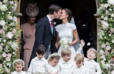 Chuyện ít biết về lễ cưới gây sốt của em gái Công nương Kate Middleton