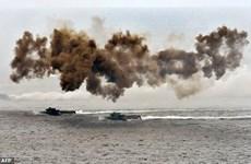 Lãnh đạo Đài Loan giám sát tập trận trên quần đảo Bành Hồ