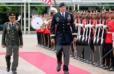 Tướng Mỹ và Thái Lan thảo luận về việc hợp tác quân sự
