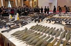 Quân nhân Thái Lan ăn trộm vũ khí rồi rao bán trên mạng